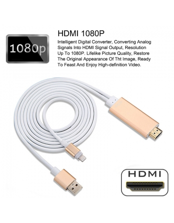 ТВ кабель HDMI для iphone, Ipad lightning