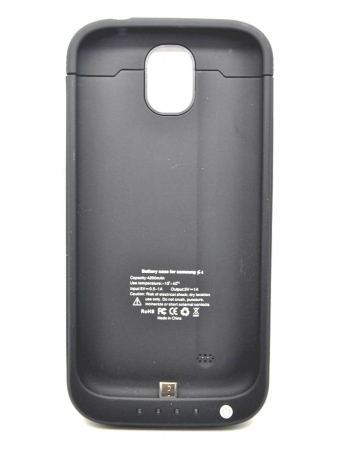 Чехол-аккумулятор Samsung Galaxy S4, 4200 Mah. Черный цвет