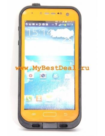 Водонепроницаемый чехол Samsung Galaxy S4. Оранжевый цвет