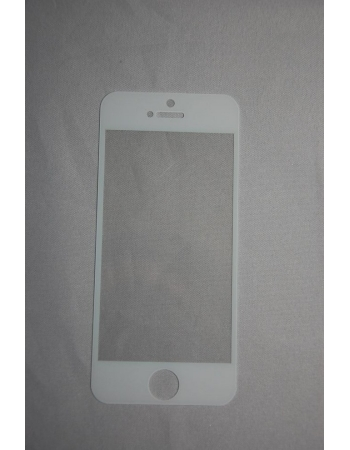 Защитное стекло Iphone 5. Белый цвет