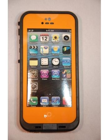 Водонепроницаемый чехол Iphone 5 Lifeproof. Оранжевый цвет