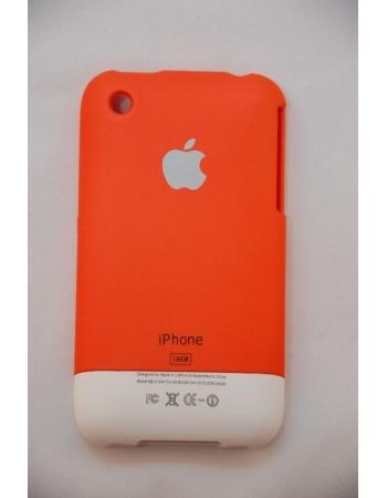Корпус-чехол Iphone 3g/3gs. Оранжевый цвет, 16 Gb