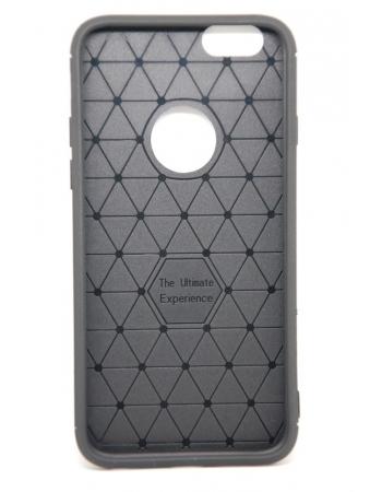 Тонкий силиконовый чехол Iphone 8. Черный цвет