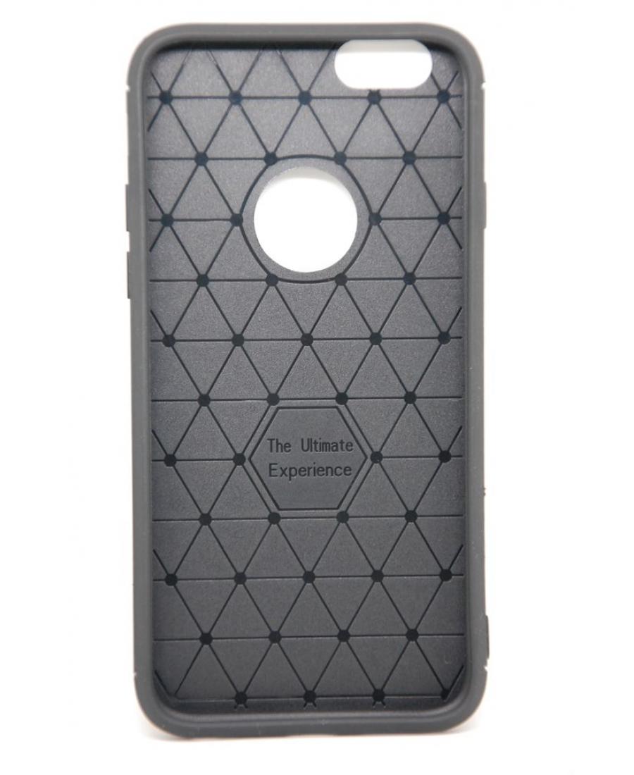 Тонкий силиконовый чехол для iphone 8 черного цвета