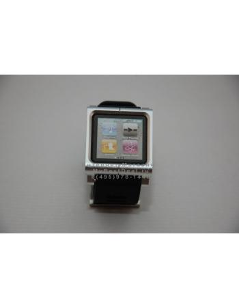 Браслет металлический Lunatik для ipod Nano 6. Серебристый цвет