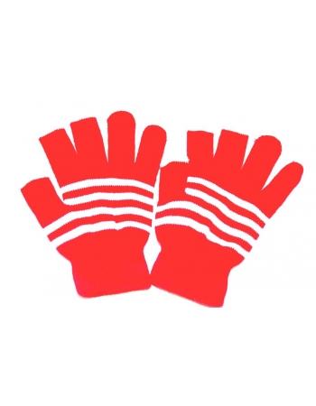 Перчатки для емкостных экранов. Красный цвет