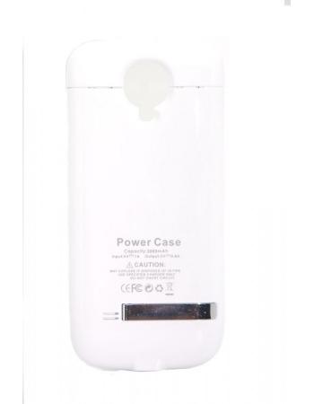 Чехол-аккумулятор Samsung Galaxy S4 mini 3000 Mah. Белый цвет