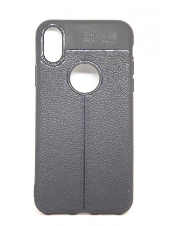 Силиконовый чехол для Iphone X. Черный цвет