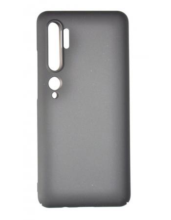 Чехол Mi Note 10/10 pro Soft touch. Черный