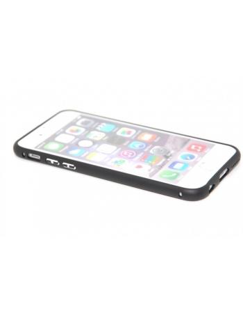 Алюминиевый чехол-бампер для Iphone 6 (4.7). Черный цвет