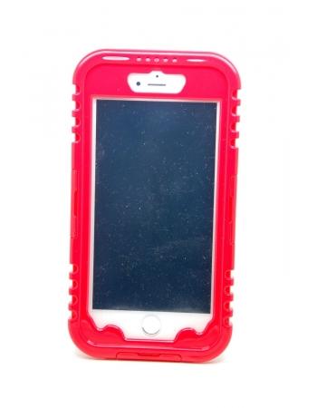 Воднепроницаемый чехол Iphone 6 PLUS. Красный цвет
