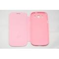 Кожаный чехол La Vie для Samsung Galaxy S3. Розовый цвет