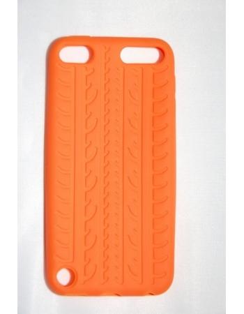 """Силиконовый чехол Ipod Touch 5 """"Протектор"""". Оранжевый цвет"""