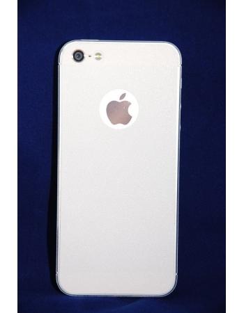 Виниловая наклейка iphone 5/5s комплект. Белый цвет