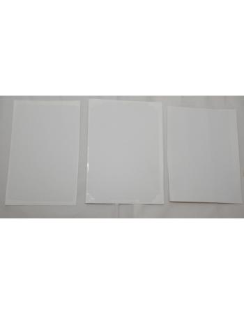 Карбоновая наклейка Ipad mini. Белый цвет. Комплект