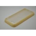 Гелевый чехол Iphone 5c. Бежевый цвет