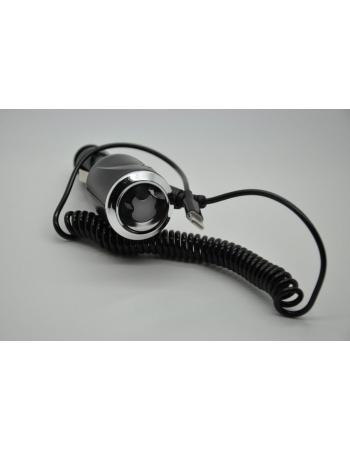 Автомобильное зарядное устройство Iphone 5 IOS 6.*. Черный цвет
