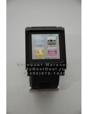 Браслет металлический Lunatik для ipod Nano 6. Черный цвет