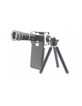 Комплект объектив 10x + штатив + чехол Iphone 4/4s
