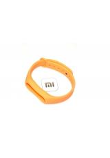 Ремешок Xiaomi Mi band 2. Оранжевый цвет