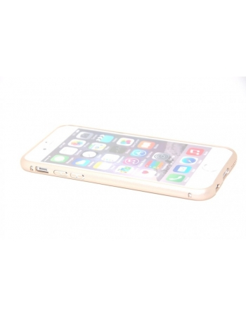 Алюминиевый чехол-бампер для Iphone 6 (4.7). Золотистый цвет