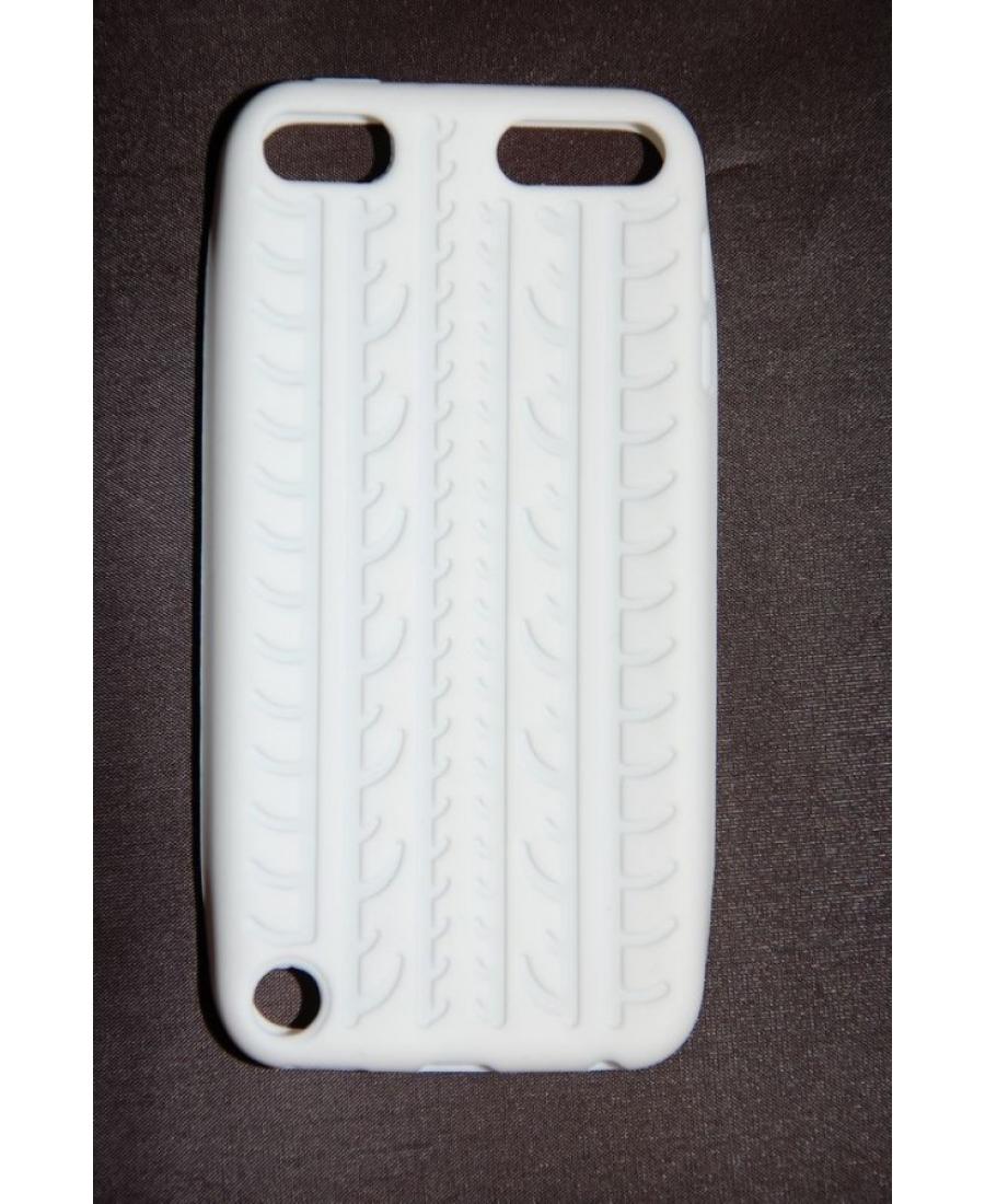 """Силиконовый чехол Ipod Touch 5 """"Протектор"""". Белый цвет"""