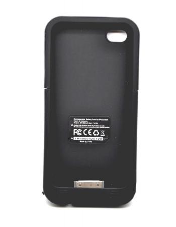 Чехол-аккумулятор Iphone 4/4s, power Pack plus, 2000 Mah. Черный цвет