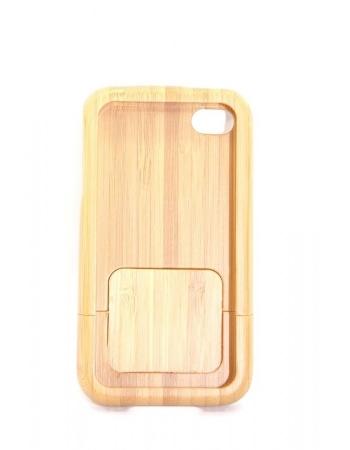 Бамбуковый чехол Iphone 4/4s, ручная работа