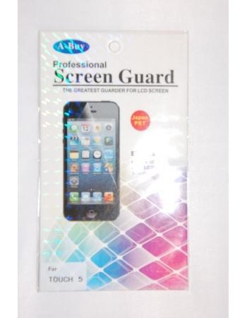 Прозрачная защитная пленка Ipod Touch 5. Retail