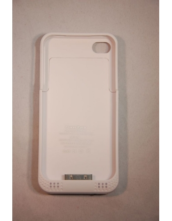 Чехол-аккумулятор Iphone 4/4s 2000 Mah. Белый цвет