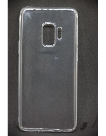 Силиконовый чехол Samsung Galaxy S9. Прозрачный
