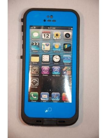Водонепроницаемый чехол Iphone 5 Lifeproof. Синий цвет