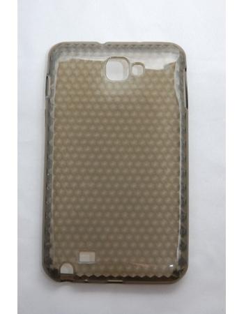 Гелевый чехол Samsung Galaxy Note. Серый цвет