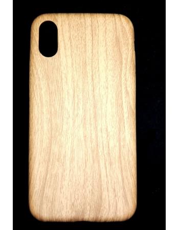 Силиконовый чехол Дерево для Iphone X. Светлый