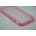 Гелевый чехол Iphone 5c. Розовый цвет