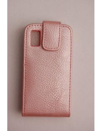 Чехол Samsung S5230, розовый цвет