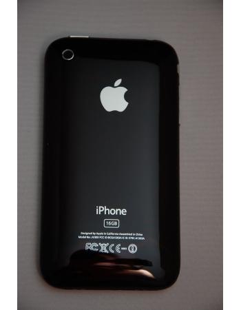 Крышка Iphone 3gs 16 GB, Черный цвет, рамка+кнопки+шлейфы.