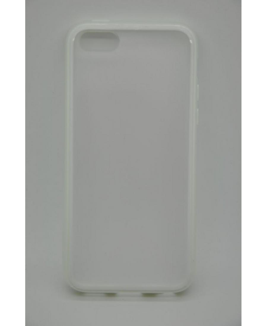 Гелевый чехол Iphone 5c. Белый цвет