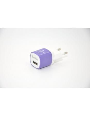 Зарядка Belkin для Iphone. Фиолетовый цвет