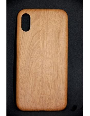 Силиконовый чехол Дерево для Iphone X. Темный