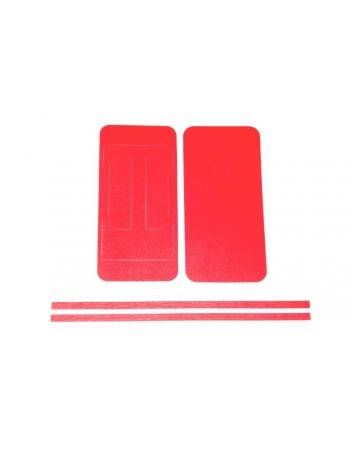 """Виниловая наклейка """"кожа"""" Iphone 5. Красный цвет"""