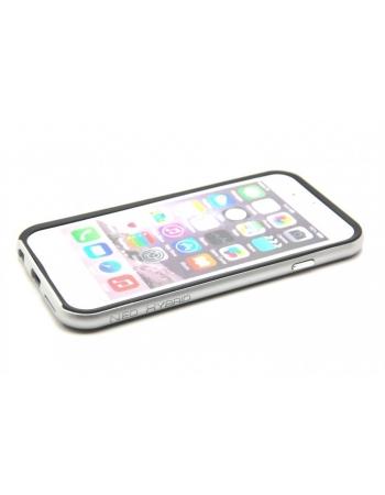 """Чехол iphone 6 (4.7"""") SGP Spigen Neo Hybrid EX Bumper. Серебристый цвет"""