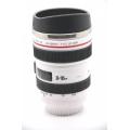 Термокружка Canon EF 24-105mm f/4L IS USM. Белый цвет