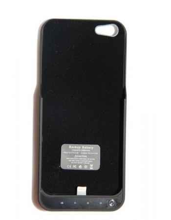 Чехол-аккумулятор Iphone 5, 2000 Mah. Черный цвет