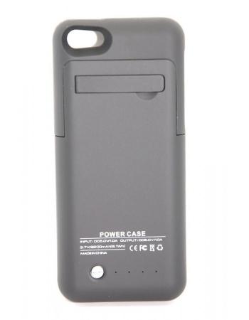 Чехол-аккумулятор Iphone 5/5s/5c 2200 mah. Черный цвет
