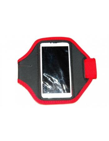 """Спортивный чехол (неопрен) для Iphone 6 PLUS (5.5""""). Красный цвет"""