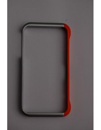 Element Case Texture X6, Серебристый/Оранжевый