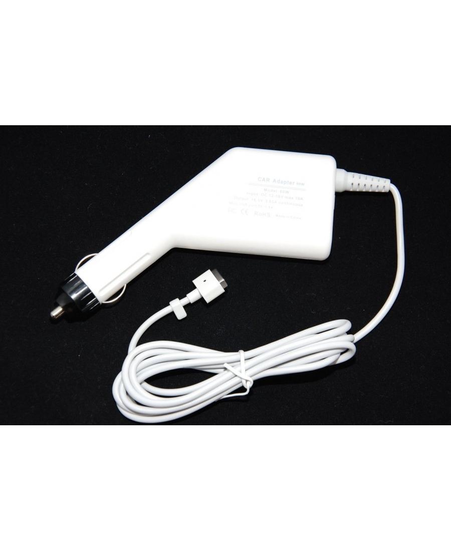 Автомобильная зарядка Macbook 60W + USB