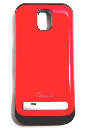 Чехол-аккумулятор Samsung Galaxy S4 3200 Mah. Красный цвет