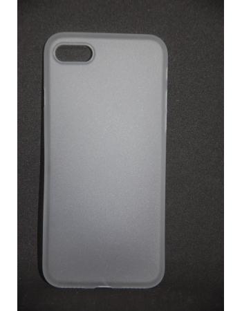 Тонкий защитный чехол для Iphone 8 ZNP. Белый цвет